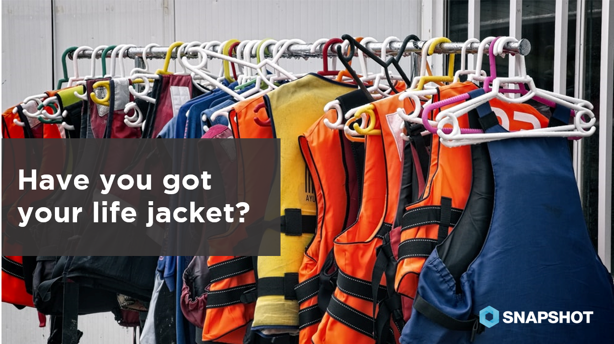 DATA SNAPS 07.12.2019 Have you got your life jacket