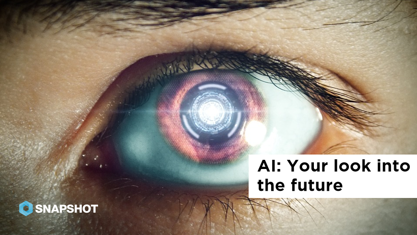 DATA SNAPS 08.09.2019 AI Your look into the future
