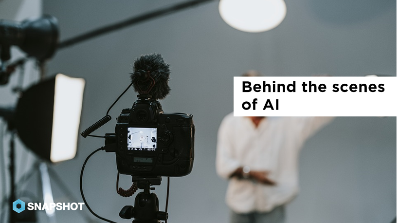 DATA SNAPS 08.23.2019 Behind the scenes of AI