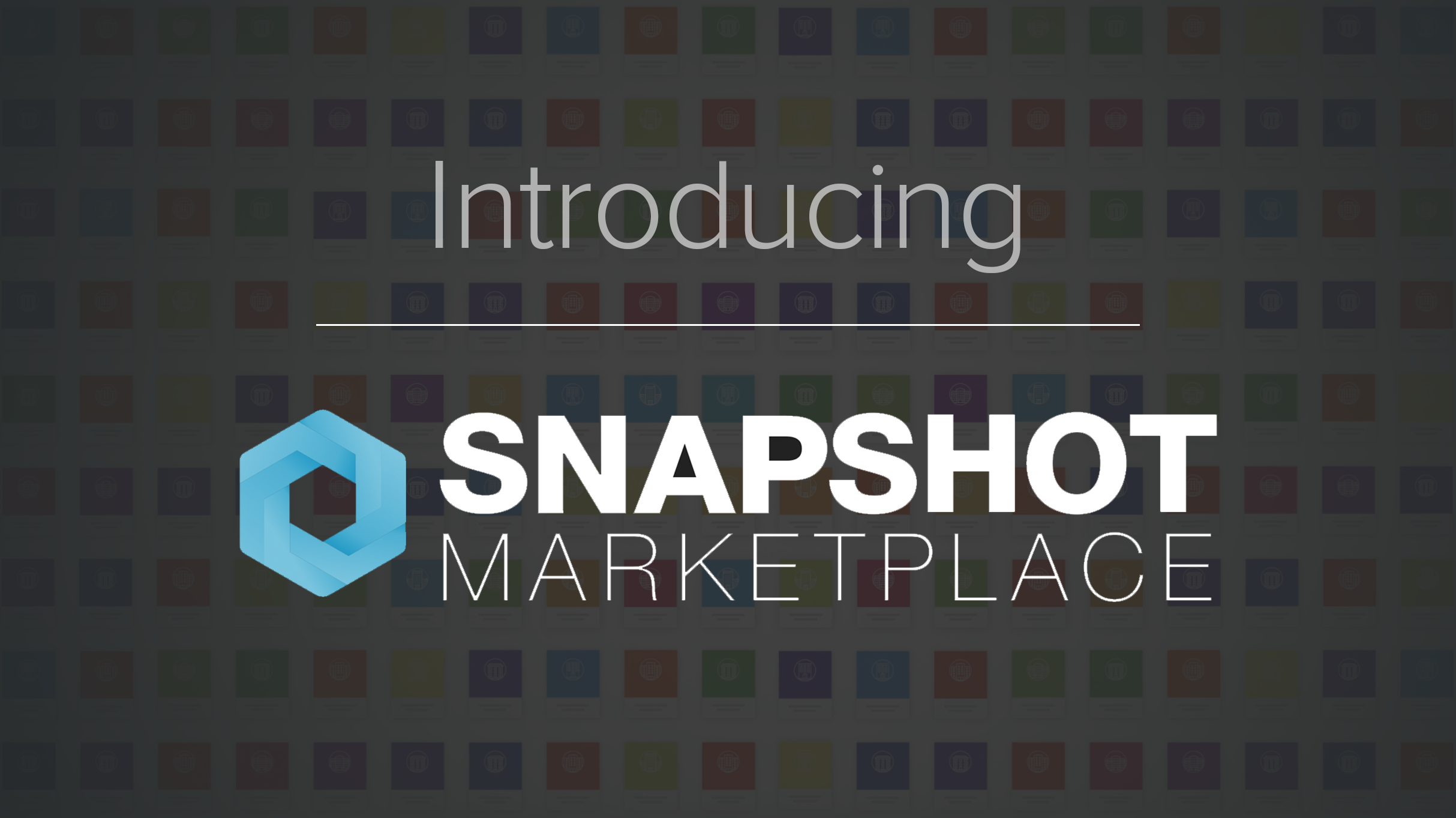 Introducing SnapShot Marketplace for video.png