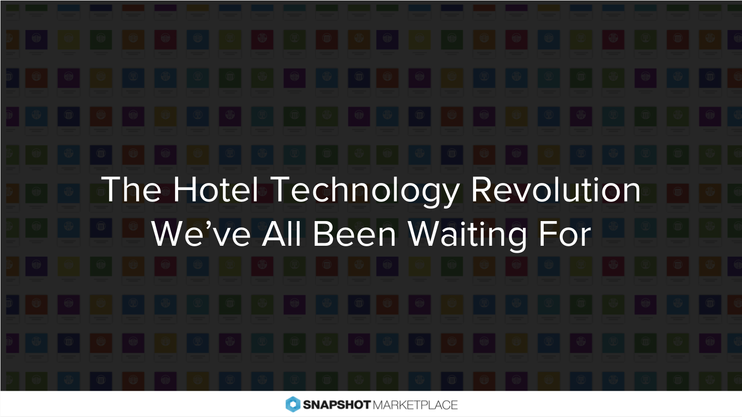 technology revolution in hotel industry Travel technology (also called tourism incorporating the broader tourism sector as well as its subset the hospitality industry while travel technology includes.