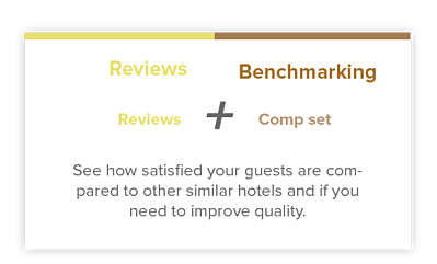 Hotel Reviews Benchmarking Satisfaction Hospitality Data Platform