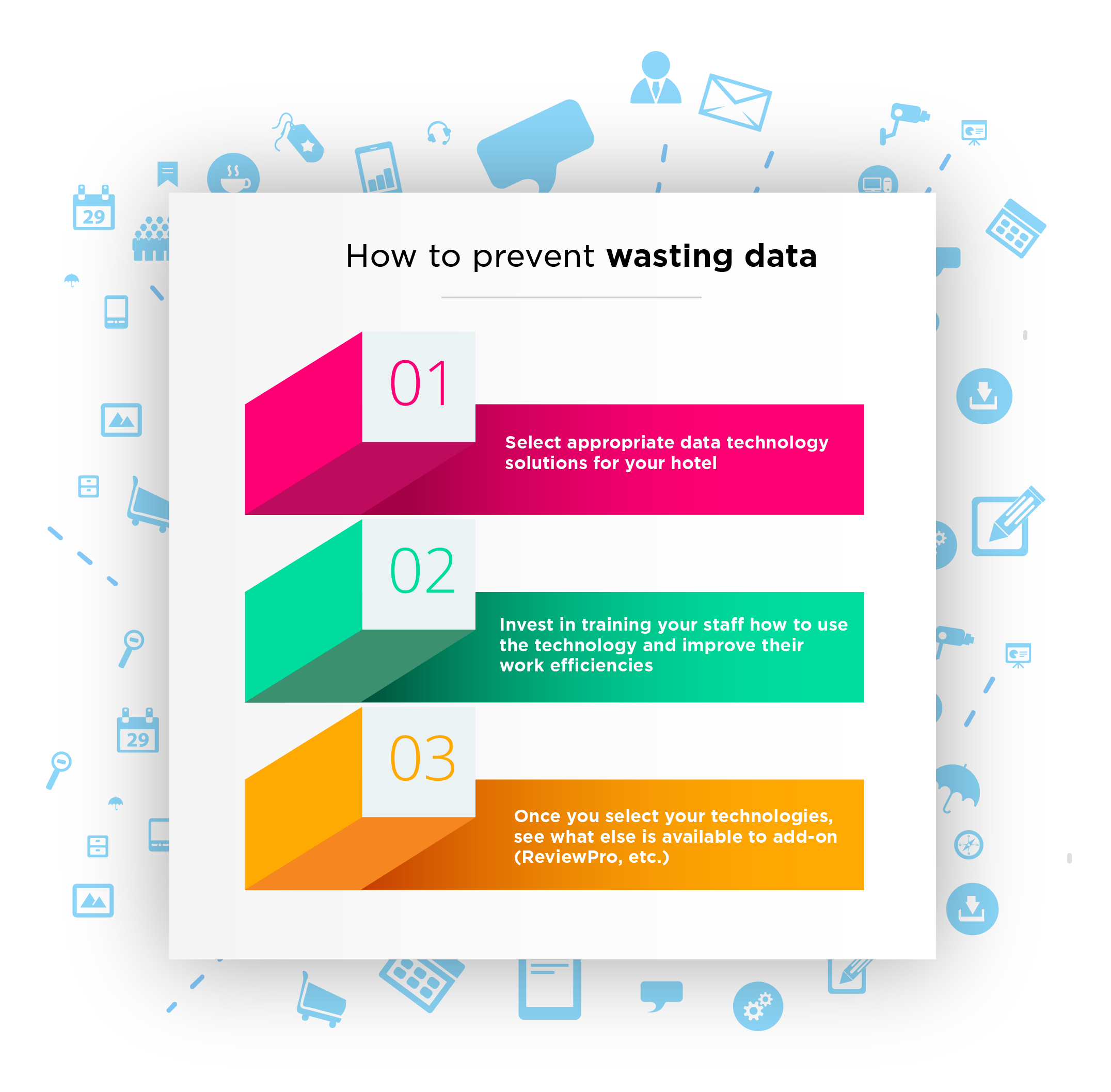 Top Tips in Preventing Data Waste