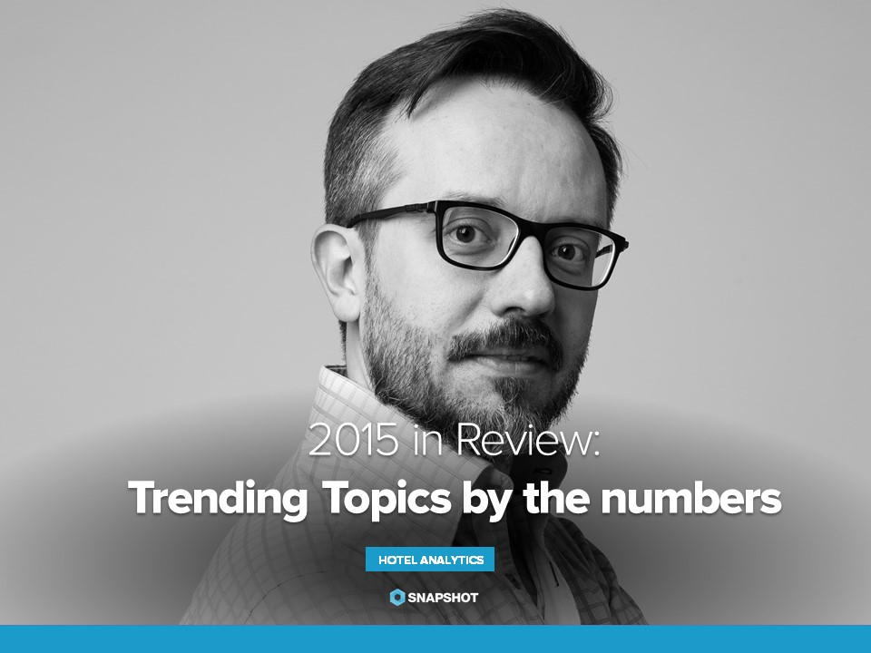 2015 in Review: Hotel Industry Trends, Digital Hotel Marketing and Revenue Management